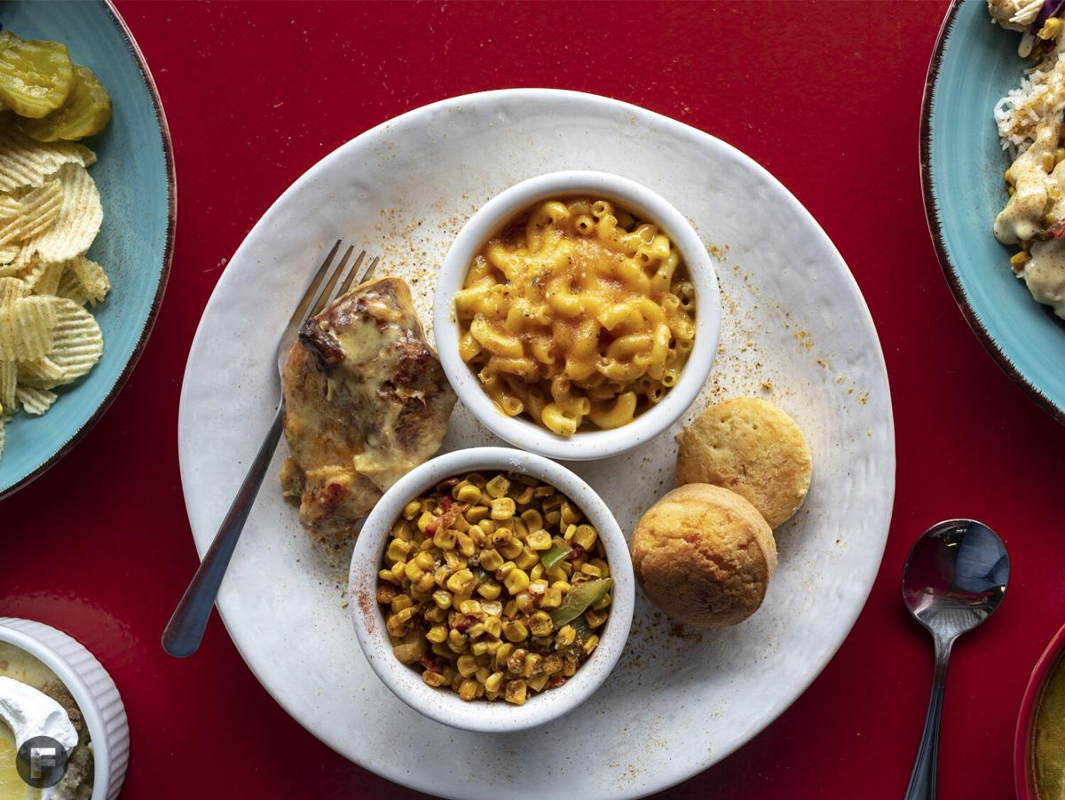 Juanita's Creole Soul Cafe Dishes