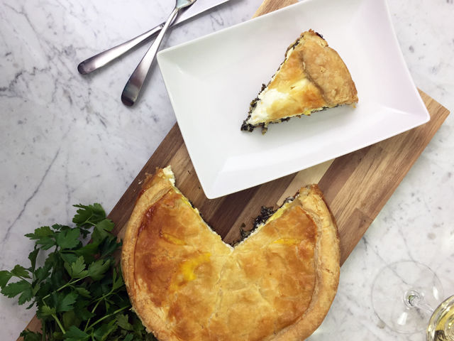 Italian Spinach and Egg Pie