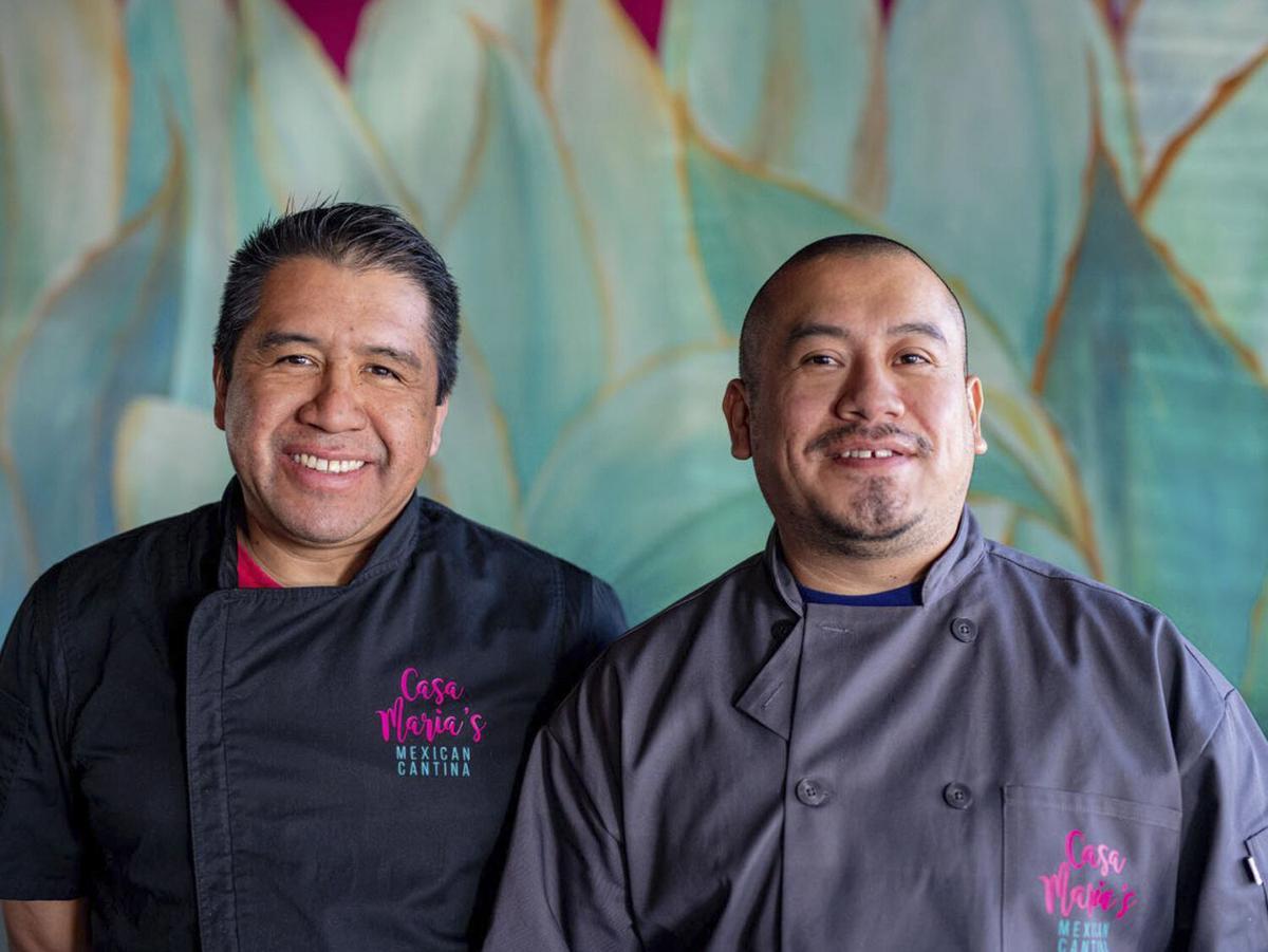 Jesus Mendoza and Agustin Ruiz of Casa Maria's Mexican Cantina