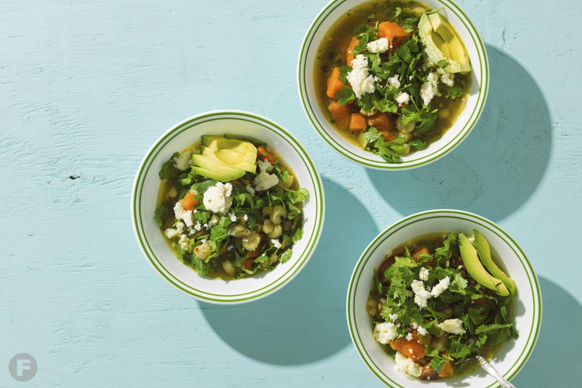 Poblano-Sweet Potato Soup