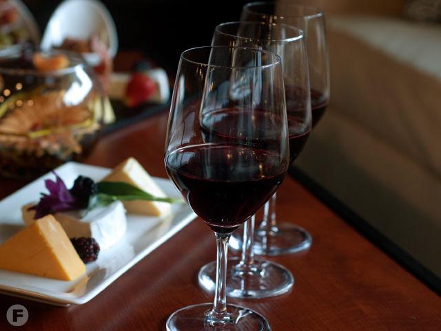 Cellar + Plate Wine Flight