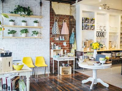 Lemon Gem Kitchen Goods Interior