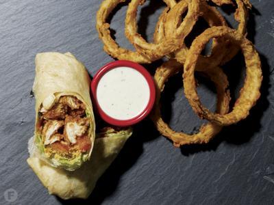Ashley's Apple Basket Café Bacon Ranch Wrap
