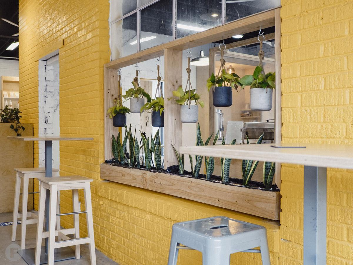 Golden Grocer Interior