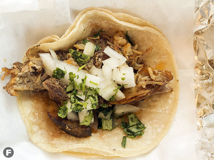Taco Circus Pork Steak