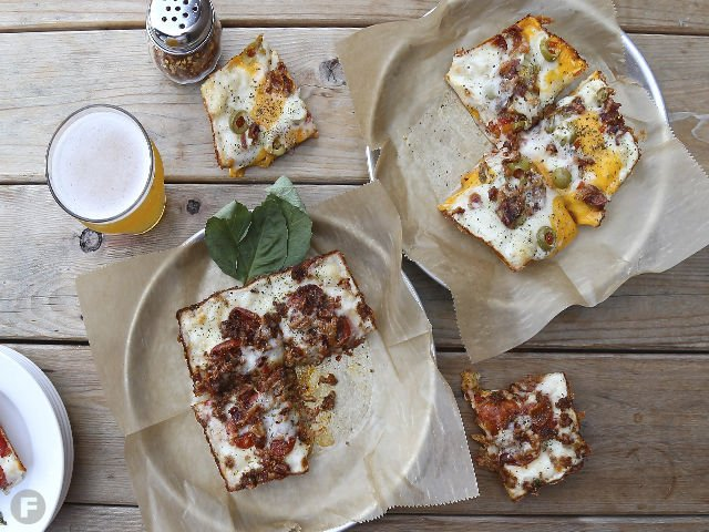 On Trend Detroit Style Pizza