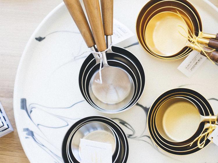 Golden & Pine Measuring Spoons