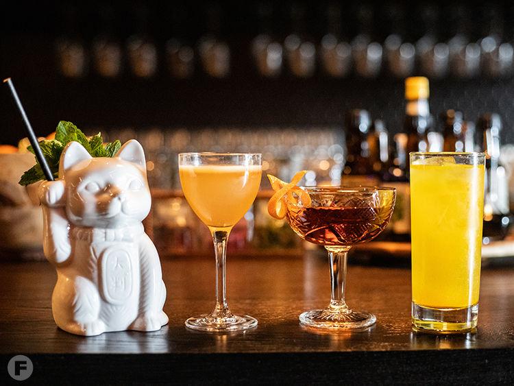 Takashima Records Cocktails