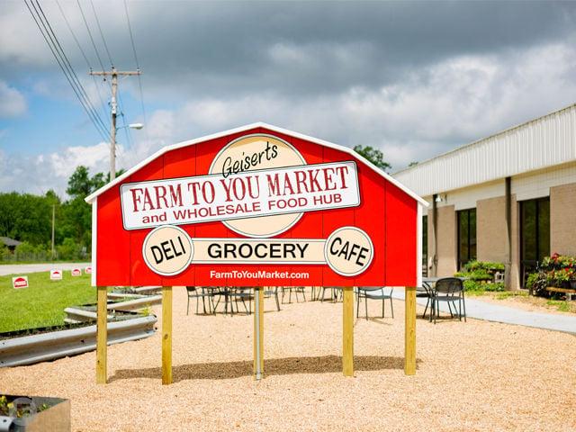 Farm to You Market Exterior