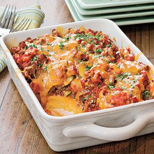 beef polenta casserole