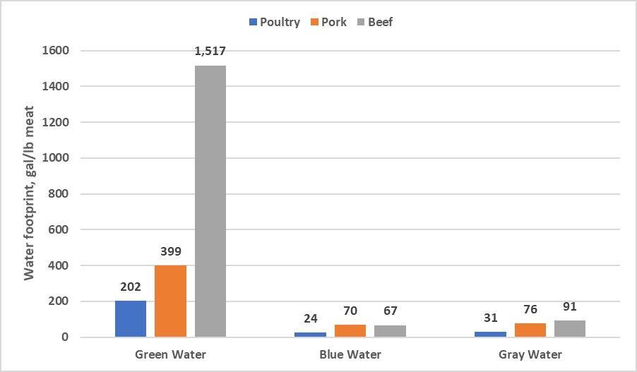 Chart Water Footprint