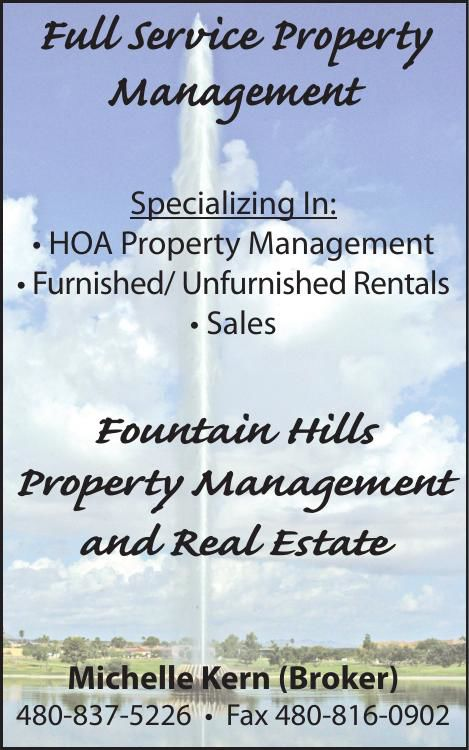 Fountain Hills Property Management and Real Estate