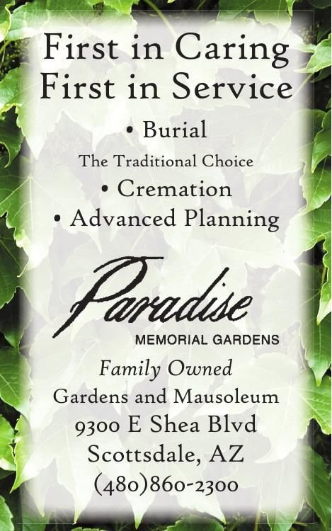Paradise Memorial Gardens