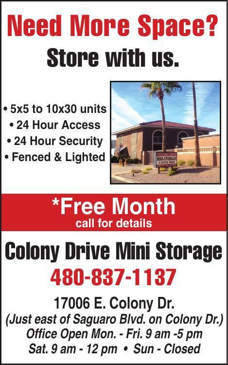 Colony Drive Mini Storage