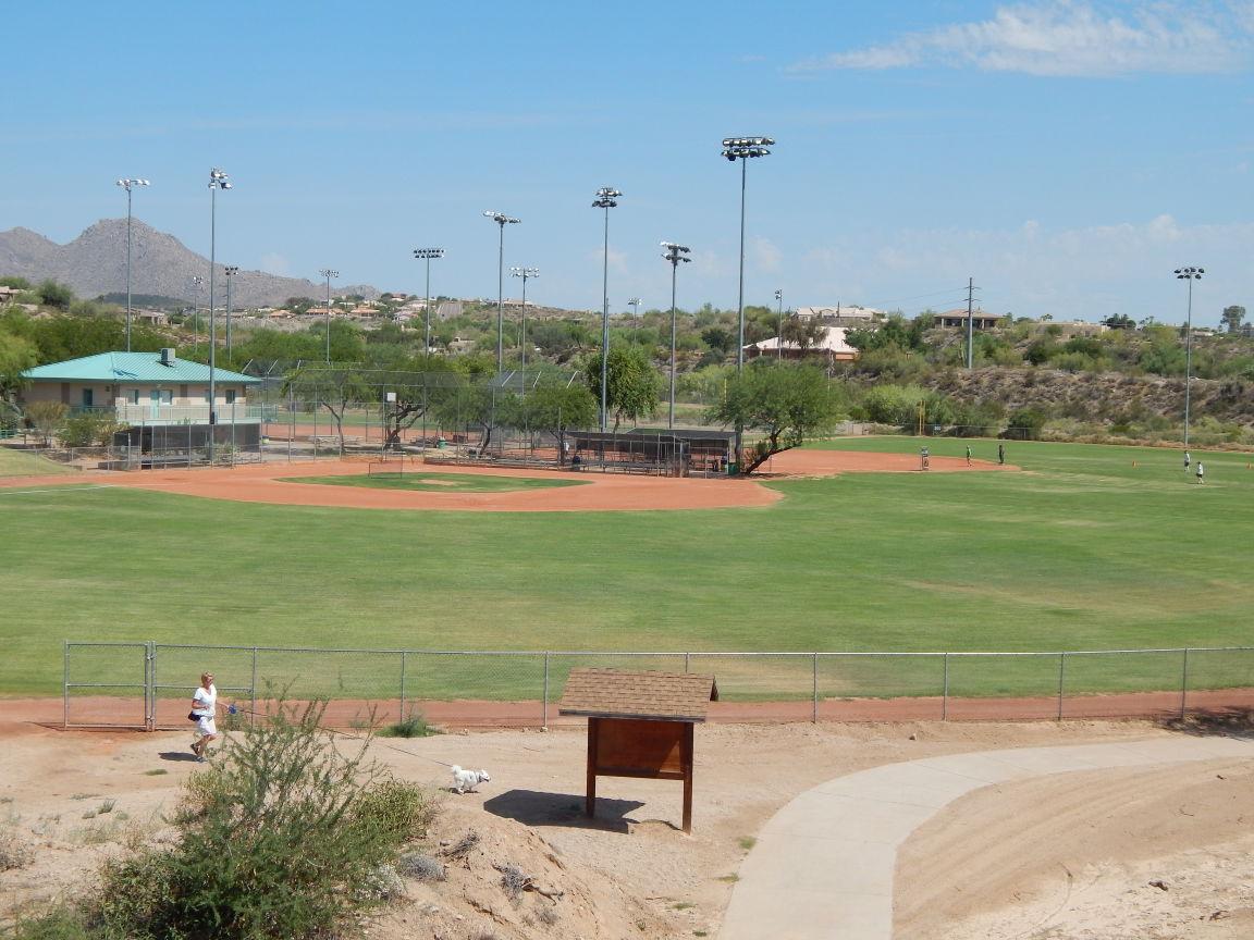 Image result for golden eagle park baseball  fountain hills