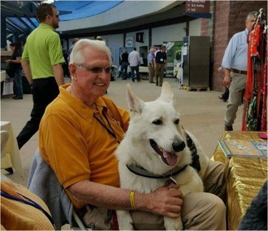 Wayne Wicklund and companion