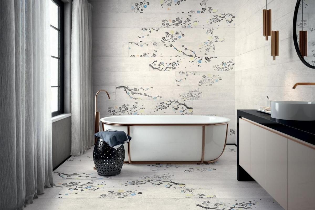 Wood Look Tile Bathroom: A Contemporary Solution to Bathroom Design
