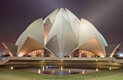 The Architect of Bahai Lotus Temple Delhi Reveals Design Idea