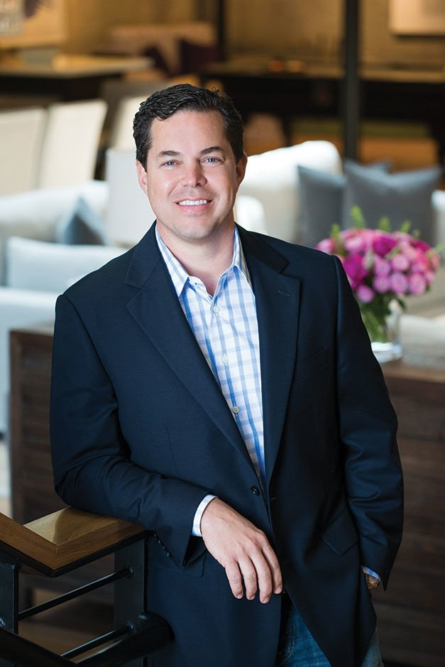 All in the Family Jason Hughes, president of Hughes Marino