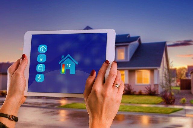 High-Tech Home Security for a Futuristic Look