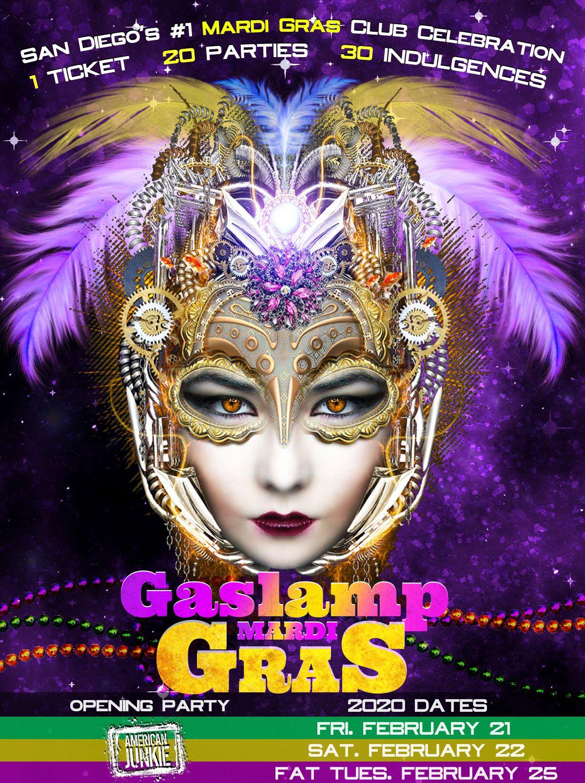 Gaslamp Mardi Gras