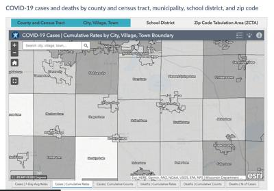 State releases dashboard that shows COVID-19 data by city, school district