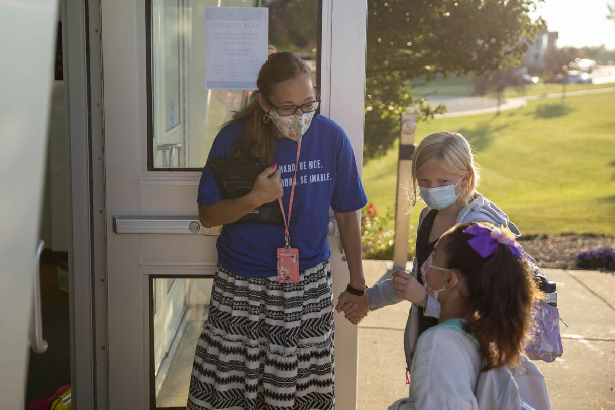Verona Area School District students return to class