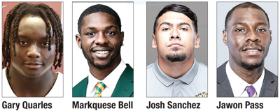 SWAC names top football players of the week