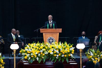 President Larry Robinson, Ph.D., remembers former President Frederick Humphries Sr.