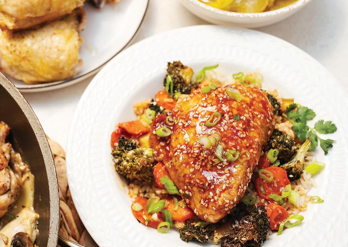 4 ways to cook chicken thighs