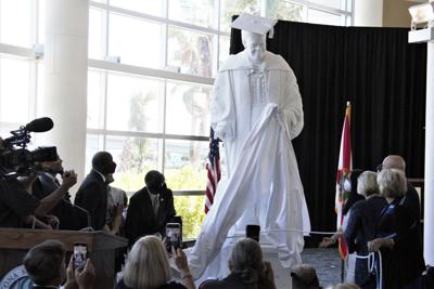 Dr. Mary McLeod Bethune Statue now on display in Daytona