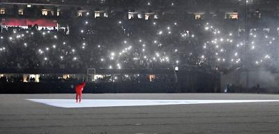Kanye West premieres 'Donda' at Atlanta stadium
