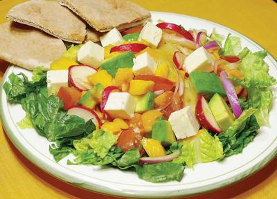 Mango adds sweetness to salad  supper