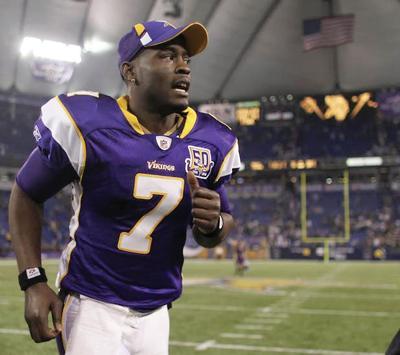 Minnesota Vikings quarterback Tarvaris Jackson