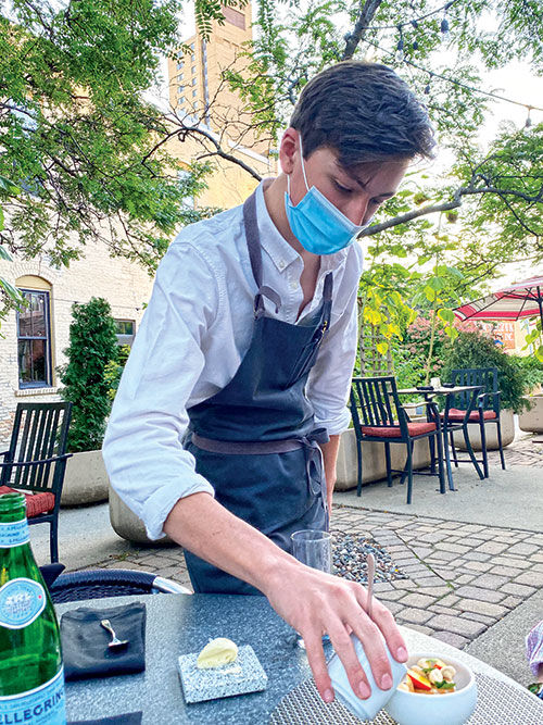 Restaurant World is this 15-year-old's stage