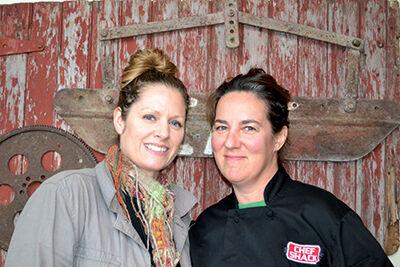 Carrie Summer and Lisa Carlson - Chef Shack