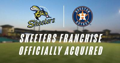 Skeeters Officially Acquired by Astros