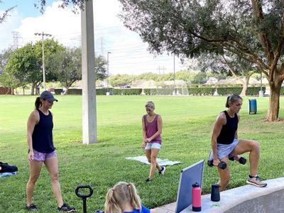 Danielle Dobecka Inspired Fitness Fun in Fort Bend