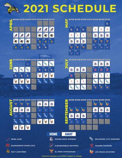 Skeeters Schedule