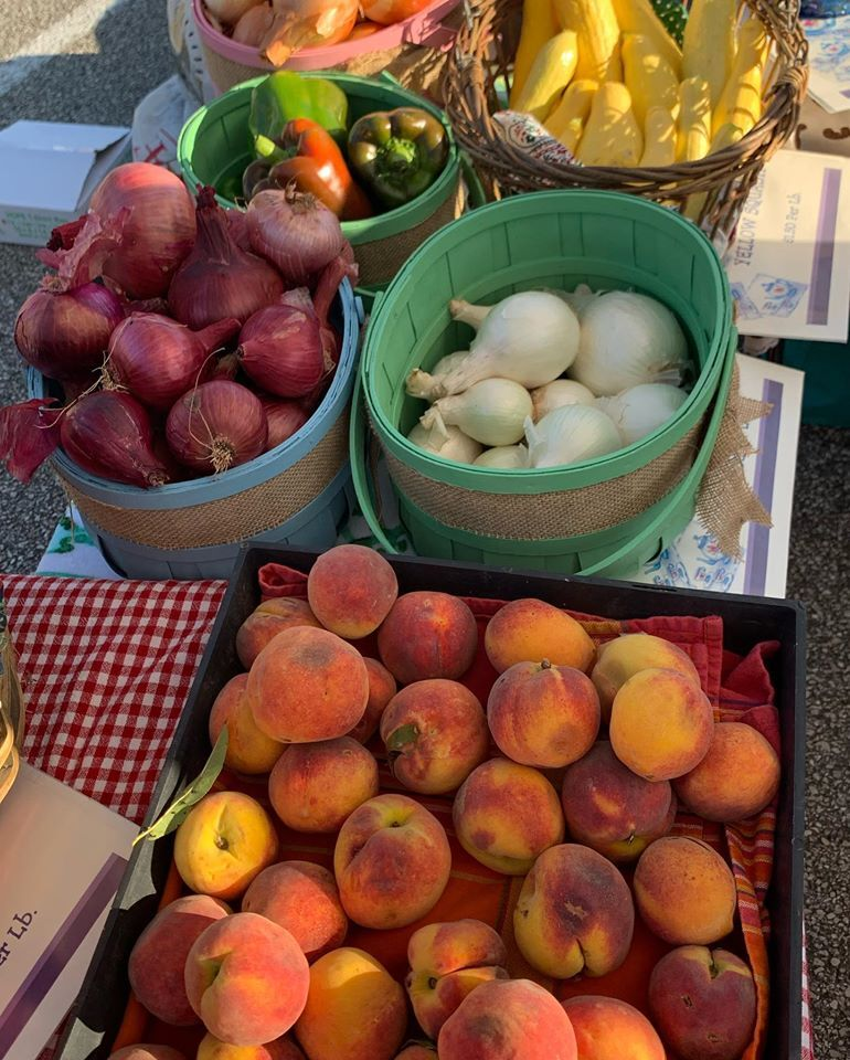 Peaches and onions Richmond Farmers Market.jpg
