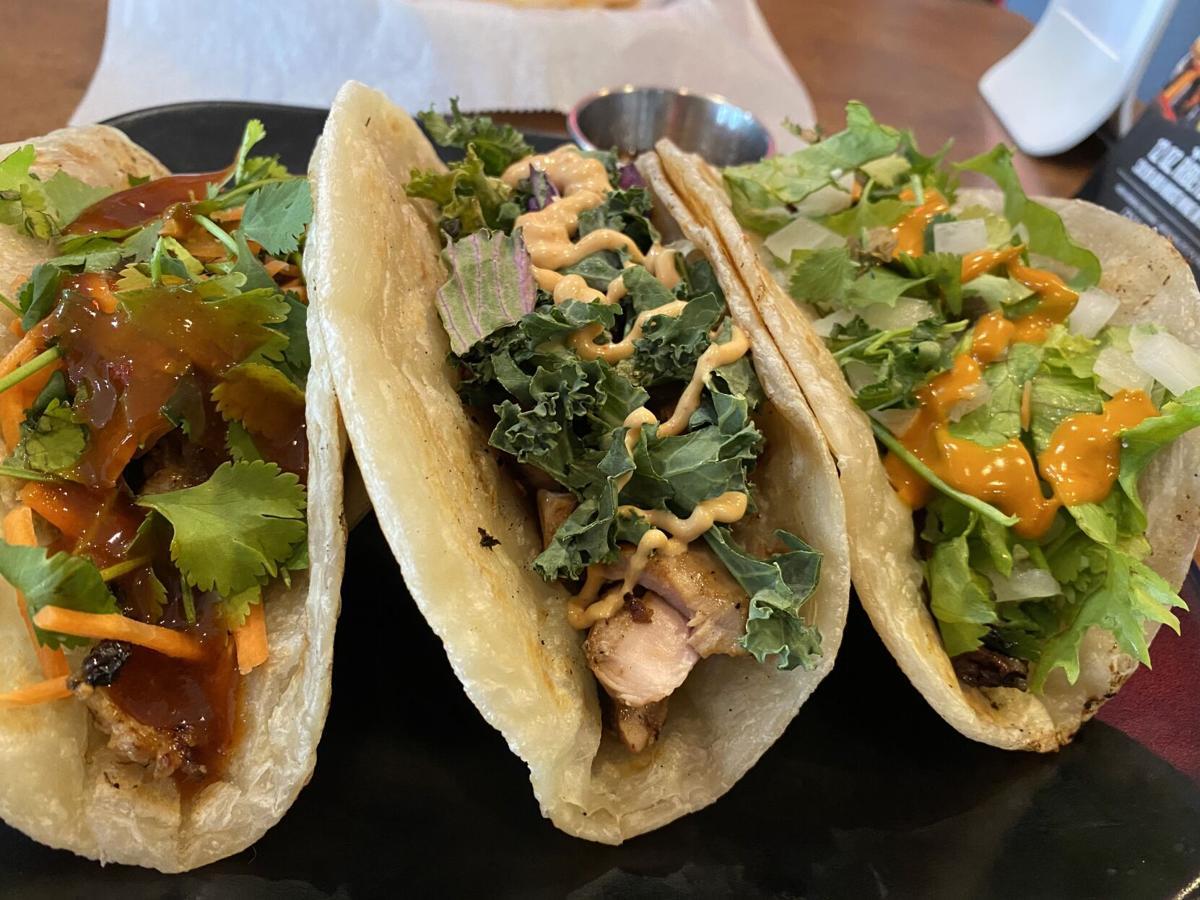 Korean Paratha Tacos