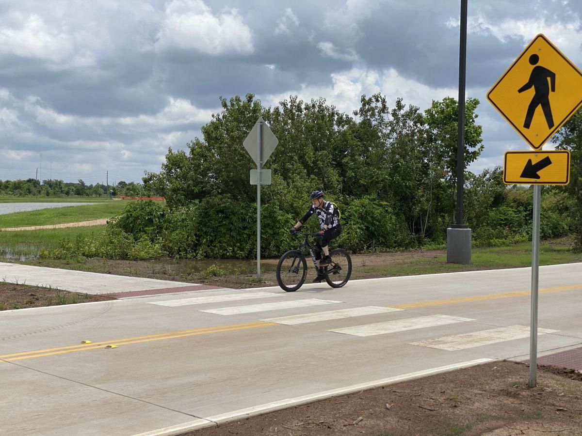 Biker 2 Memorial Park Connector Sugar Land