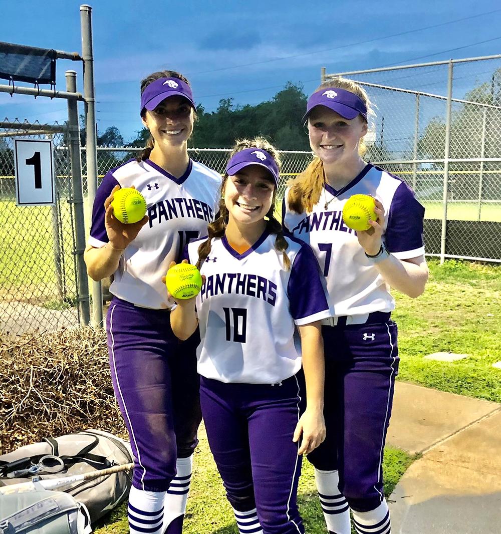 Ridge Point Softball Trio
