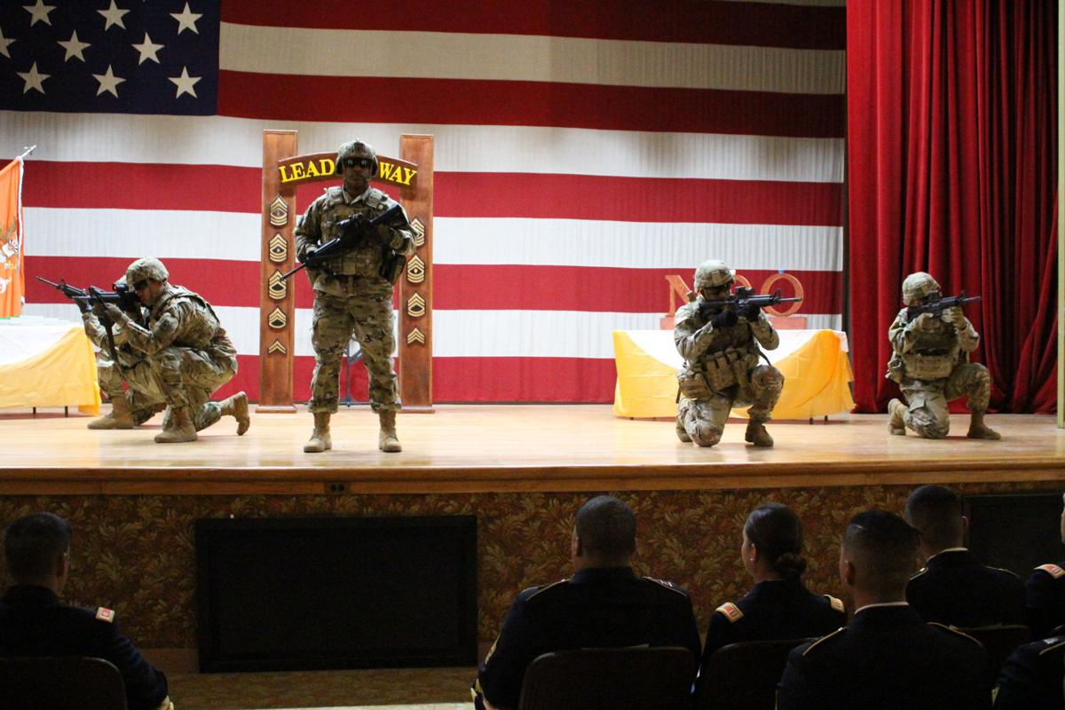 NCO Induction Ceremony