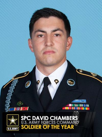 Spc. David Chambers