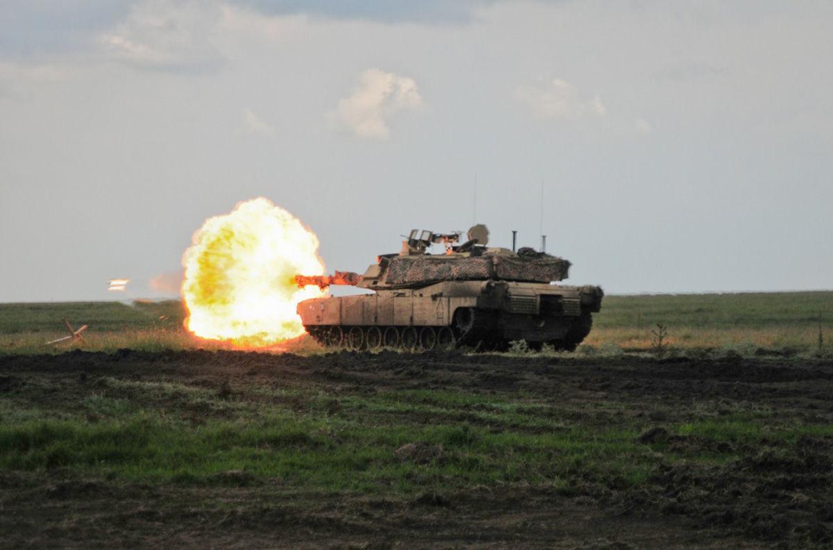 US Tank Crew • Fire their Main Gun • Fort Carson, Colorado, Sept. 7, 2021