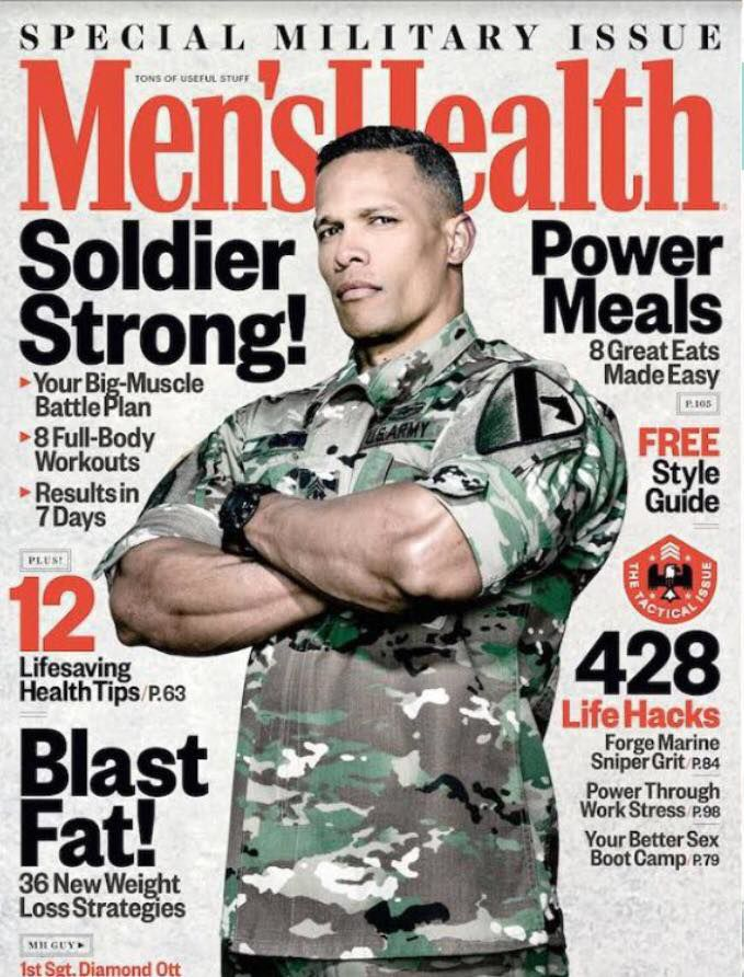 c65f7041624 Hood Soldier makes cover of magazine | News | forthoodsentinel.com
