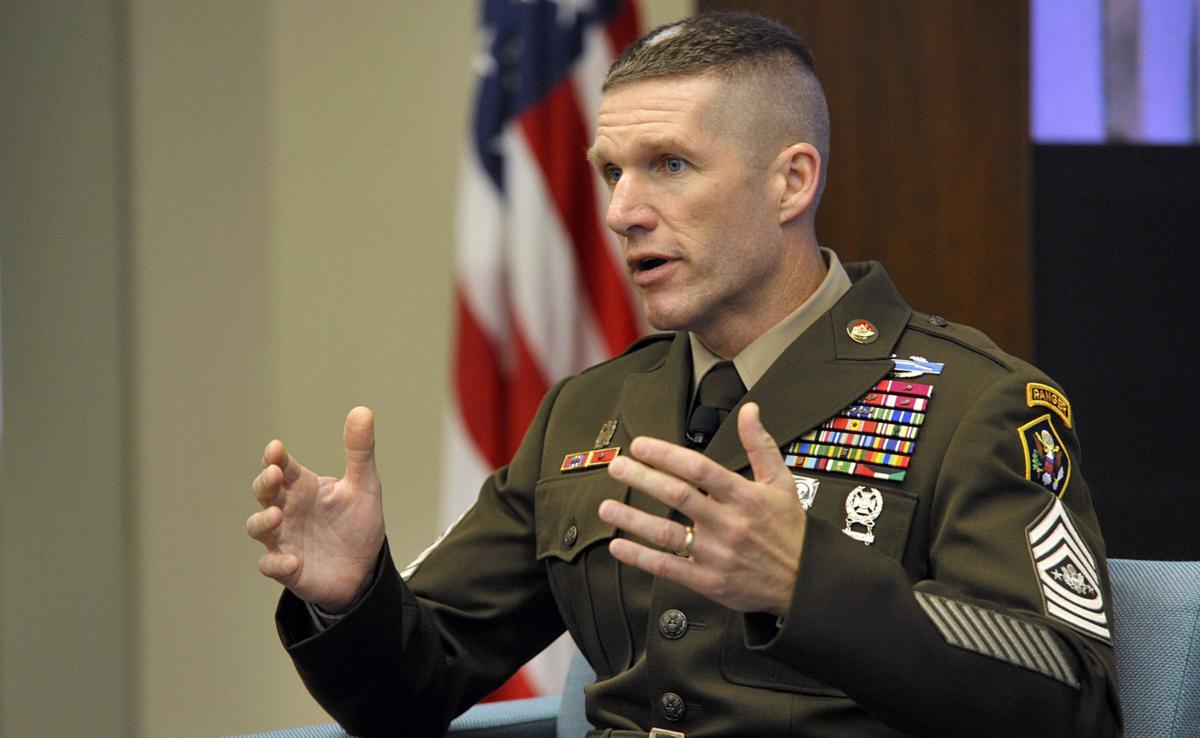 Sgt. Maj. of the Army Daniel Dailey