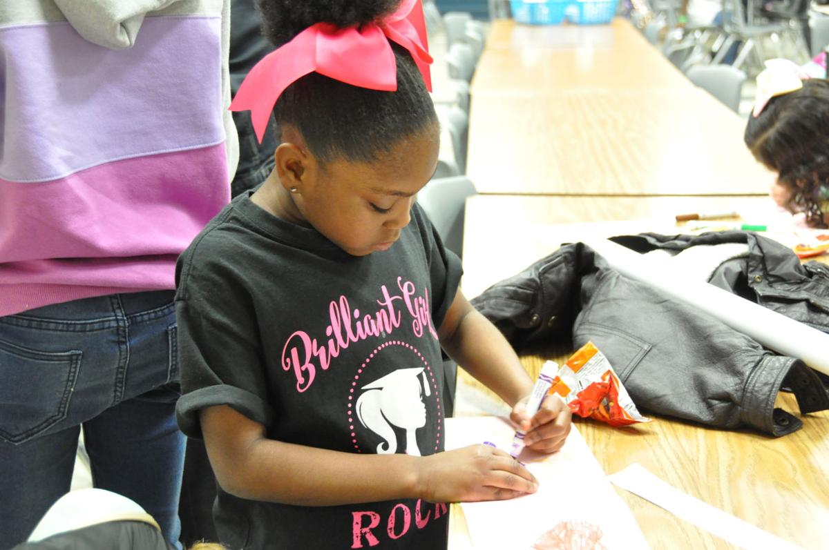 school celebrates early Valentine's Day