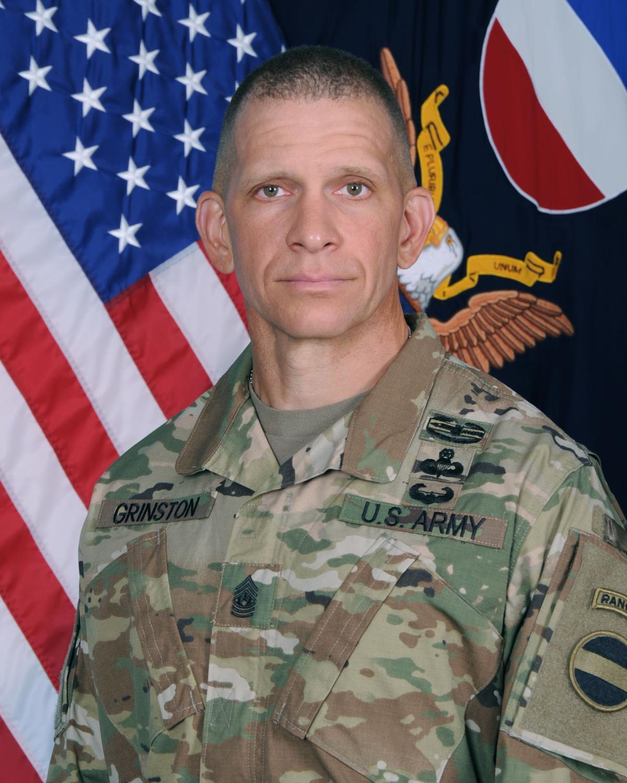 Command Sgt. Maj. Michael Grinston